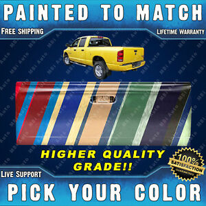 Painted To Match High Quality Grade Tailgate For 2002 2008 Ram 1500 2500 3500