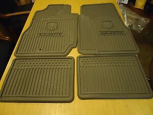 2006 11 Dodge Dakota Club Quad Factory 5kk34zj8ab Oem Allseason Floor Mats
