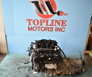 11 12 13 14 Ford Mustang 3 7l Vin M 8th Digit Engine Assembly 60k Oem