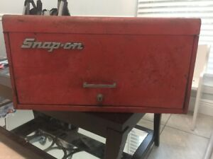 Vintage Snap In Tool Box Tool Chest Road Box