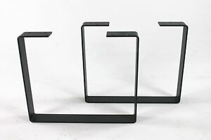 Industrial Metal Coffee Table Legs Heavy Duty Powdercoated Steel Modern Diy