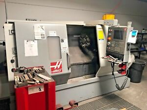 2006 Haas Sl30t Cnc Turning Center prog Tailstock Chip Auger Video Available