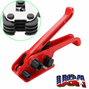 Heavy Duty Strap Tensioner Tool For Polyproplyn Cord Strapping Machines Sealer