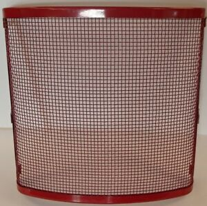 Red Front Grille Screen For Case Ih Farmall Cub Model Tractor 350979r11