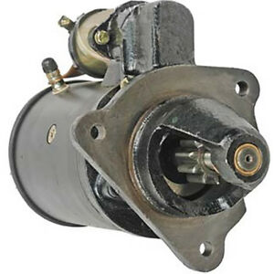 26363 New Starter Made To Fit Allis Chalmers Tractor Models 180 185 200 6060