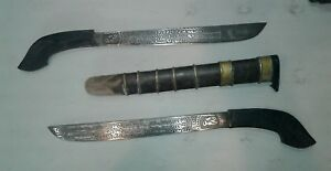 Javanese Swords Indonesian Golok Knife Kris Knives Daggers Horn Handle