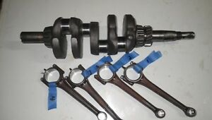 Wisconsin Vh4d Standard Size Crankshaft With Matching Connecting Rods read All