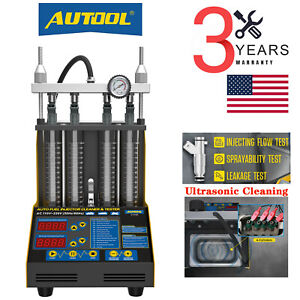 Autool Ct150 Ultrasonic Fuel Petrol Injector Cleaner Tester For Car Motor Van
