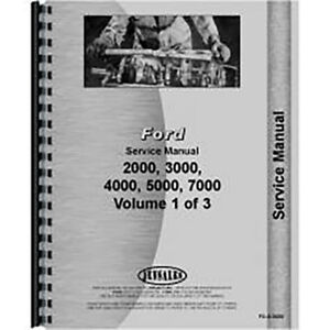 New Ford 4000 Tractor Service Manual