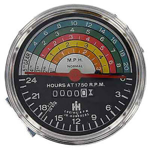 363829r91 Tachometer For Farmall Ih 300 350 Gas Row Crop