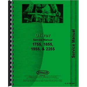 New Oliver 2255 Tractor Service Manual