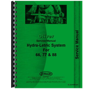 Oliver 77 Tractor Service Manual hydra lectric System