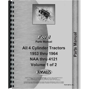New Ford 640 Tractor Parts Manual