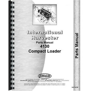 New International Harvester 4130 Tractor Parts Manual