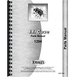 New Case 1294 Tractor Parts Manual