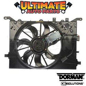 Radiator Cooling Fan W Controller For 2001 Volvo S80 Up To Vin 116810