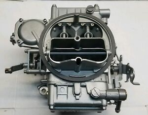 Holley 1850 Rebuilt Carburetor 600 Cfm Vacuum Secondary Manual Choke