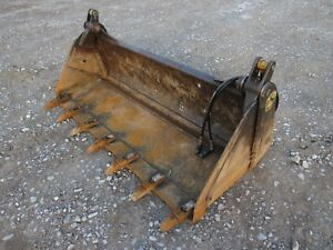 Bobcat Skid Steer Attachment 73 4 in 1 Extreme Duty Tooth Bucket Ship 199