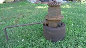 Plymouth Gear Shift Belt Pulley Drive Hub Fordson Tractor Ford Massey Ferguson