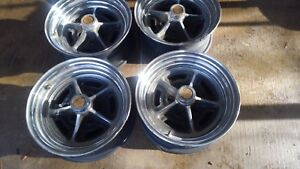 Oldsmobile 442 Crome Rally Wheels 14x6 Set Of 4