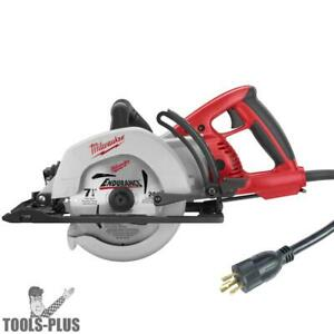 Milwaukee 6577 20 7 1 4 Worm Drive Circular Saw With Twist Plug New