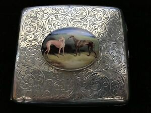 Gorgeous Sterling Silver Cigarette Vesta Case By Constantine Floyd C 1911