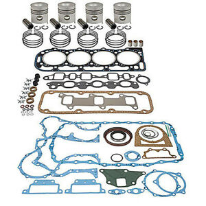 Ik198 New Ford New Holland In Frame Engine Overhaul Kit 7600 7000 7700