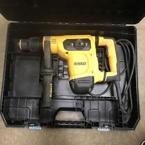 Dewalt D25481k 1 9 16 Sds Max Combination Hammer Kit With Shocks