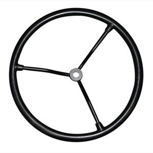 Steering Wheel With 3 Steel Spokes 36 Spline Fits Ford 4410 4500 4600 4600su Naa