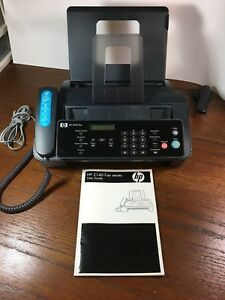 Used Hp 2140 Fax Machine W copy Function Handset Cm721