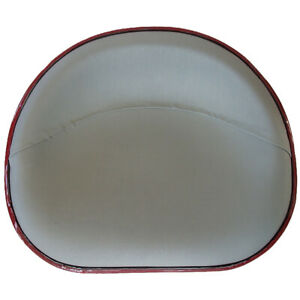 Upholstered Silver Canvas Pan Seat For Ihc Farmall 200 230
