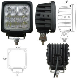 Led730f 1730 Lumens Square Led Flood Light 9v 32v 4 25 X 4 25