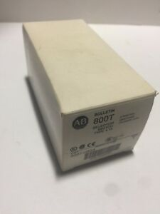 Allen Bradley 800t h33a Selector Switch W Keys New In Factory Box