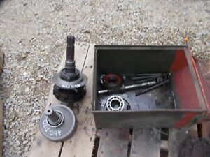 International 460 Rc Tractor Working Live Ihc Pto Unit In Parts Ih