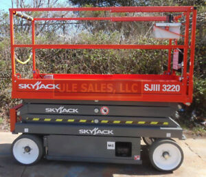 2019 Skyjack Sj3220 Electric Scissor Lift New In stock Door 2 Door Delivery