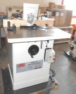 Accura 02330 General Type 3 Hp Shaper 3 4 And 1 Inch Spindle
