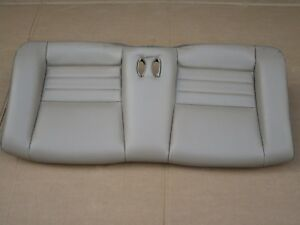 99 04 Mustang Gt Convertible Tan Leather Rear Seat Bottom Oem Gt 4 6 Saleen