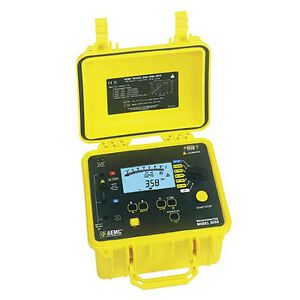 Aemc 5050 Megohmmeter digital Analog Bargraph Backlight Alarm Timer