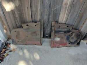 Original Headlight Support Panels For 1956 Ford F100 Truck