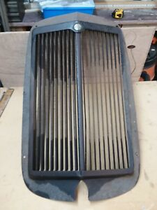 Unique Rat Rod Car Grill Shell Adjustable Vent Globe Machine Stamping Hot Rod