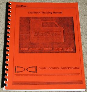 Digitrak Directional Drilling Locating System Training Operator s Manual