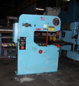 36 Doall 3613 1 Vertical Bandsaw Blade Welder Grinder 1997 From Government