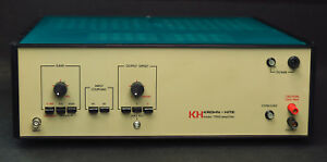 Krohn hite 7500 Dc 1mhz Wideband Power Amplifier Tested