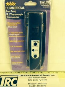 Taylor Thermometer 9305 Digital Infrared Dual Temperature