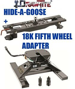 Drawtite Undrbed Gooseneck Trailer Hitch 18k Fifth 5th Wheel Adapter Ford F450