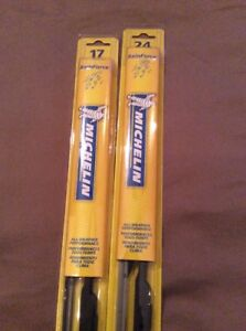 Michelin Rainforce Wiper Blades 2 pack 24 And 17 Brand New