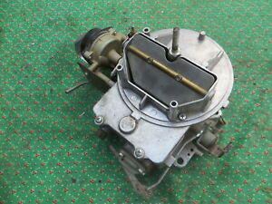 Ford Mustang 1966 Rebuilt Autolite 2100 Carburetor Holley 2 Barrel Nice 6 D E