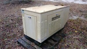 Generac Propane Generator 25kw Single Phase 294 Hours