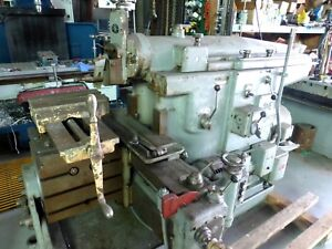 Rockford Hydraulic Shaper With Universal Vise And Power Down Feed
