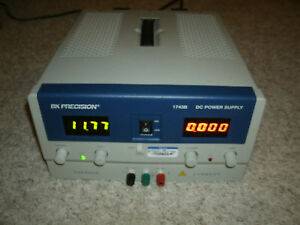 Bk Precision Dc Power Supply 1743b Works Great